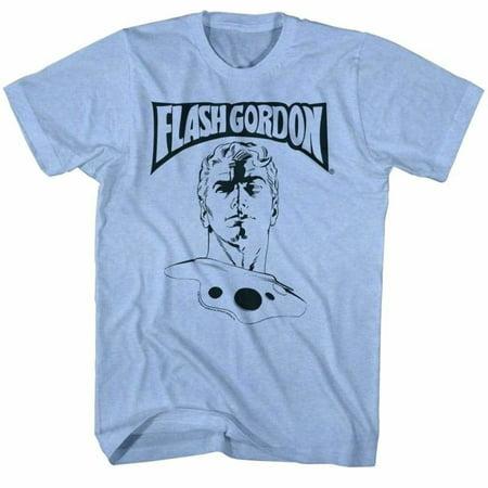 Flash Gordon Comics Ballin' Adult Short Sleeve T Shirt - Nicholas Gordon Halloween