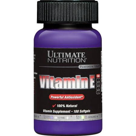 Ultimate Nutrition Vitamin E - 100 Softgels (Ultimate Nutrition) ultimate nutrition vitamin e - 100 softgels (ultimate nutrition)