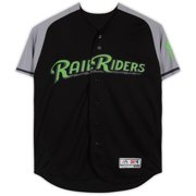 Billy McKinney Scranton/Wilkes-Barre RailRiders Game-Used #39 Black and Green Jersey from the 2018 MiLB Season - Size 44 - Fanatics Authentic Certified
