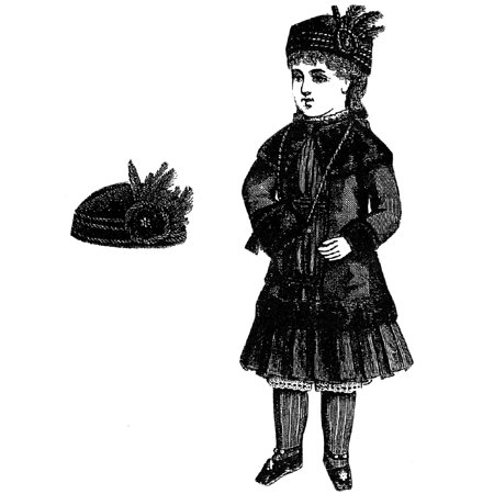 - Sewing Pattern: 1883 Doll's Suit & Hat