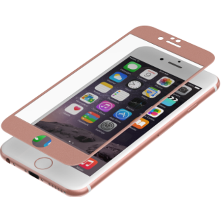Zagg Invisible Shield Glass Luxe HD Clarity Reinforced Screen Protector for iPhone 6 6s (Rose Gold) Iphone Invisibleshield Protective Screen