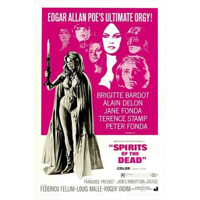 Posterazzi MOVEJ1265 Spirits of the Dead Movie Poster - 27 x 40 in. - image 1 de 1