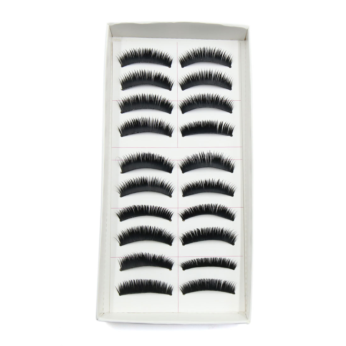 60 Pairs Soft False Eyelashes Extension Eyes Makeup Cosmetic Tool #5