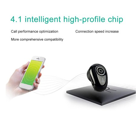 S650 BT 4.1 Wireless Mini Earphones Headset Headphone Handsfree Sport 50mAh - image 7 of 10