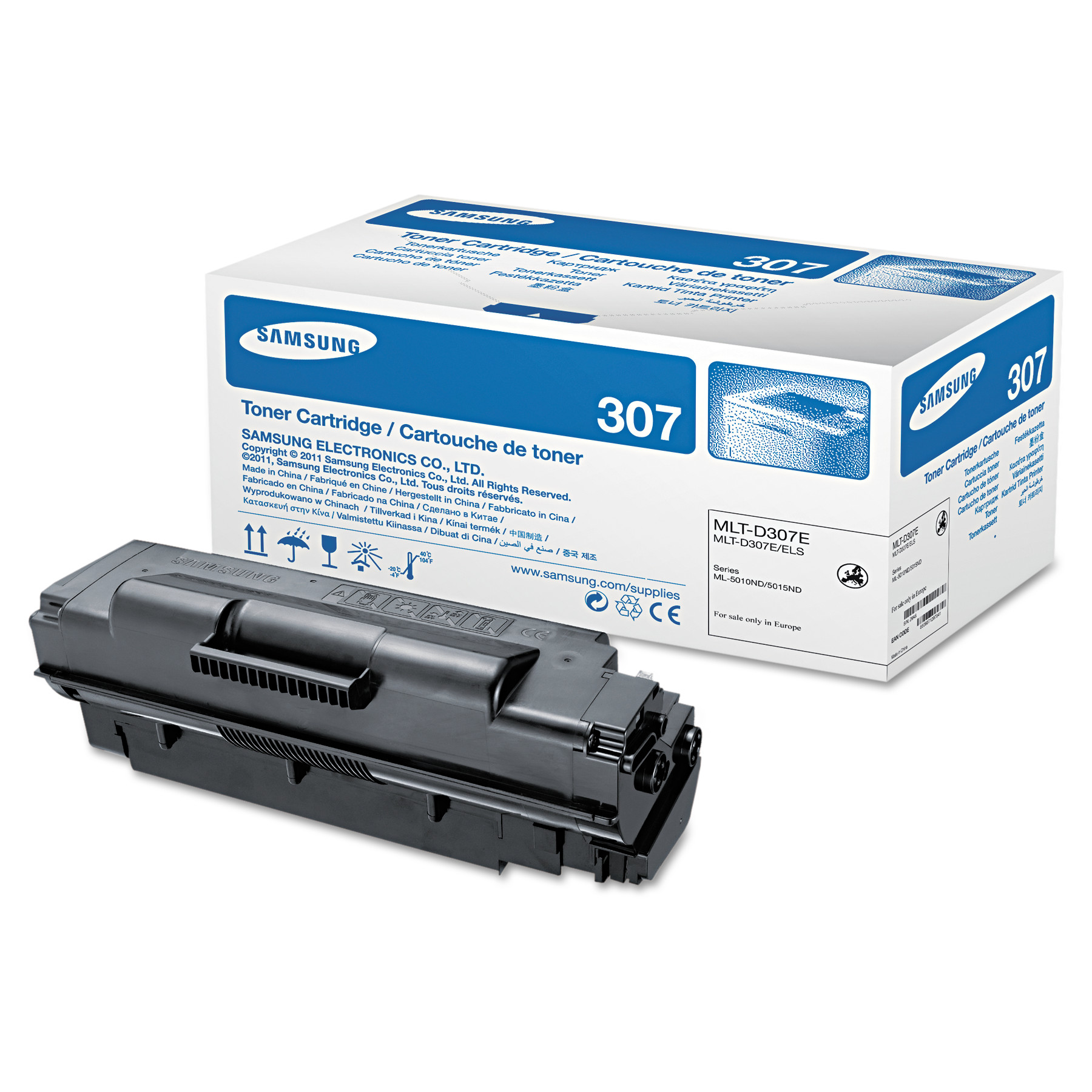 Samsung MLT-D307E (SV057A) Extra High-Yield Toner, 20000 Page-Yield, Black