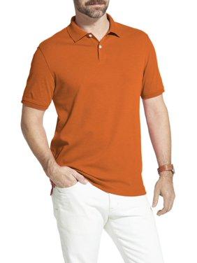93159c33 Product Image Men's Big and Tall Arrow Interlock Heathered Polo Shirt