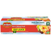 Del Monte® Cherry Mixed Fruit 16-4 oz. Cups