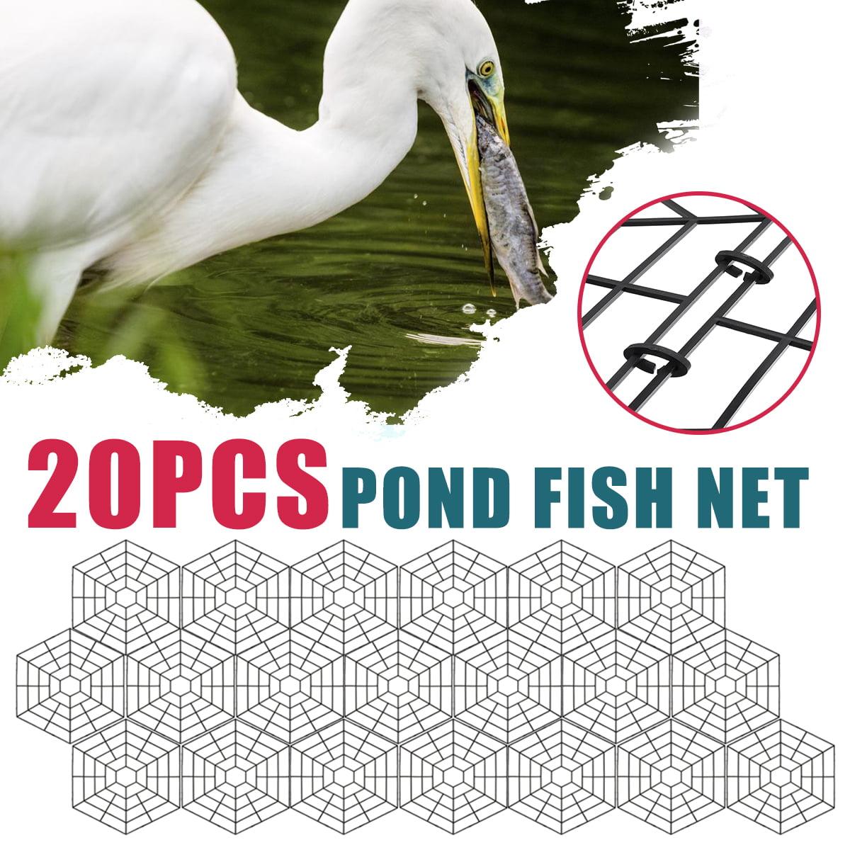 30pcs Pond Protectors Floating Guard Against Heron Lightweight Plastic Net