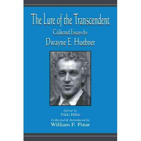 Lure of the Transcendent, William Pinar, Dwayne E. Huebner Paperback - image 1 of 1