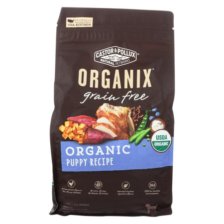 Castor And Pollux - Organix Grain Free Dry Dog Food - Puppy Recipe - Case Of 5 - 4