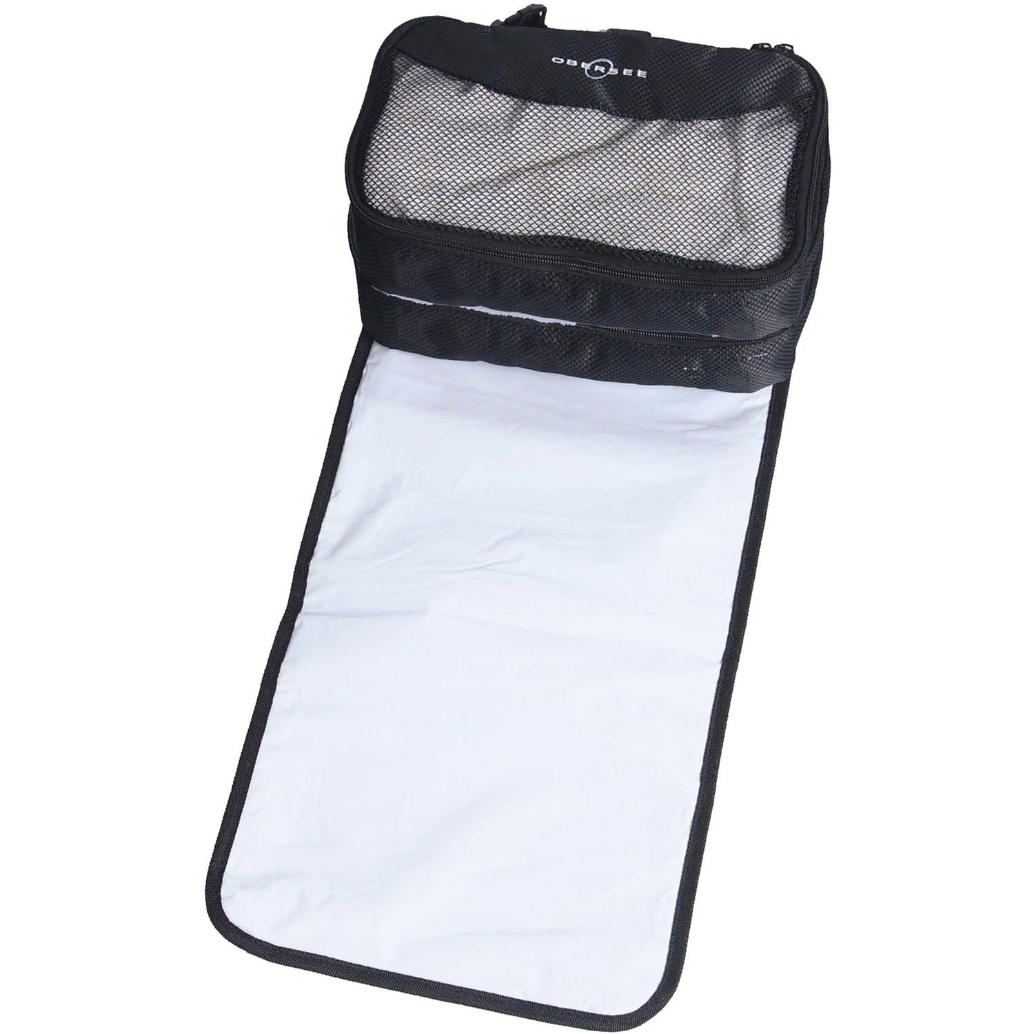 Obersee Extra Large Diaper Changing Station Bag for Travel and Twins