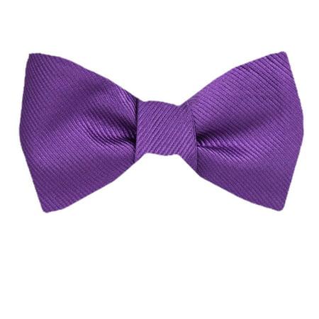 Buy Your Ties - Men's Purple Silk Pattern Self Tie Bowtie ... - photo#34