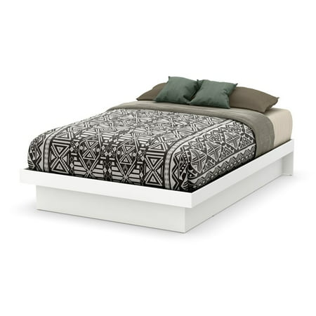 Vito Full-Size Platform Bed (54''), Multiple - Nevis Espresso Low Profile Bed