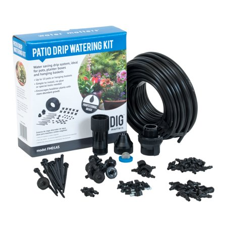 DIG Patio/Container Drip Irrigation Watering -
