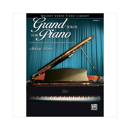 Alfred 00-30114 Grand Solos for Piano- Book 6 - Music Book