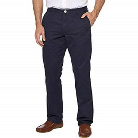 Tailor Vintage Men's Flat Front Pant (34x32, Navy) Tailored Mens Pants