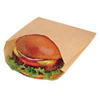 BGC300100 - Bagcraft Papercon Ecocraft Grease-resistant Sandwich Bag, 6 1/2 X 1 X 8, Natural, 2000 Count