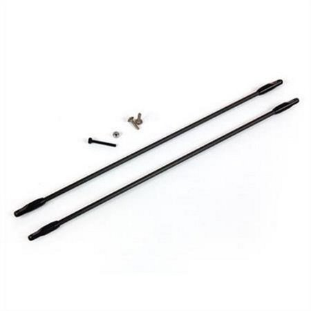 Tail Boom Support Mount - Ares AZSZ2360AL Aluminum Tail Boom Support Set: Optim 300 CP