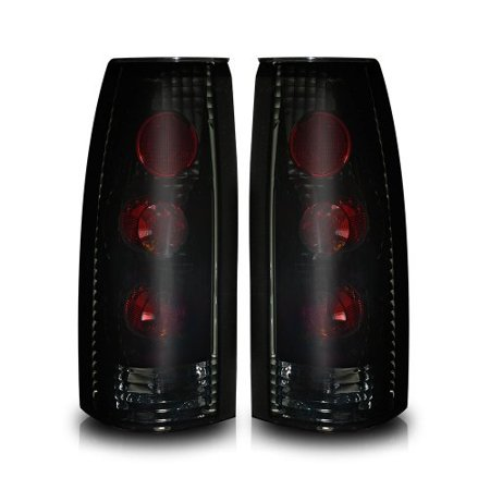 Winjet WJ20-0003-05 Altezza Style Tail Lights for 1988-1999 Chevrolet GMC Cadillac CK Suburban Tahoe Blazer Yukon Escalade -