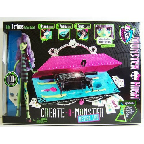 Monster High Create-A-Monster Design Lab Play Set