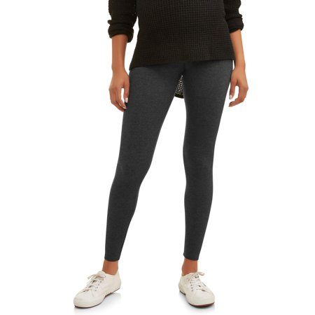 866c15444771cb Oh! Mamma - Full Panel Maternity Leggings -- Available in Plus Size -  Walmart.com