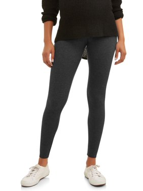 Oh! mamma Maternity Full Panel Leggings - Available in Plus Sizes