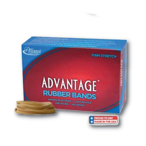 Alliance Rubber Band Red, Rubber, #62 | 1 lb./Box