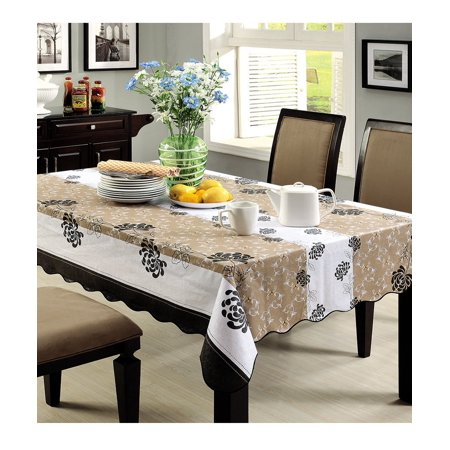 60 X 60 Square Pvc Tablecloth Table Cover For Dinner Picnic Table
