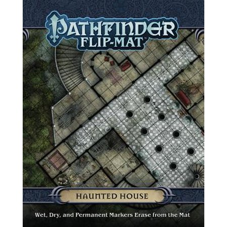 Pathfinder Flip-Mat: Haunted House (Gamemastery Flip Map)
