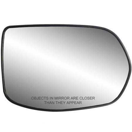30217 - Fit System Passenger Side Heated Mirror Glass w/ backing plate, Honda CR-V 07-11, 4 15/ 16