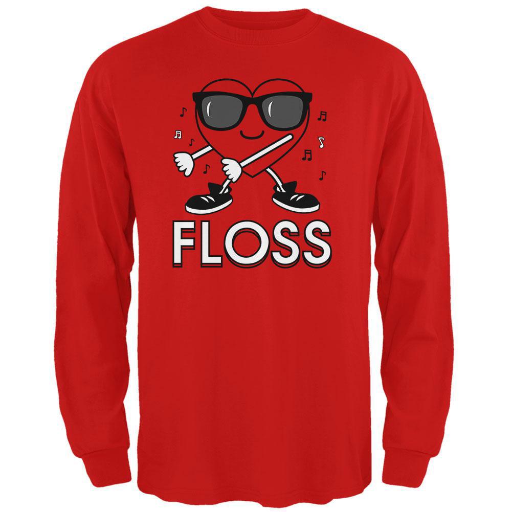 Floss Dance Gaming Dance Red Cotton Long Pyjamas