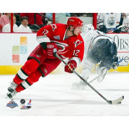 Eric Staal - 2006 Stanley Cup Finals Game 2 Action Photo Print