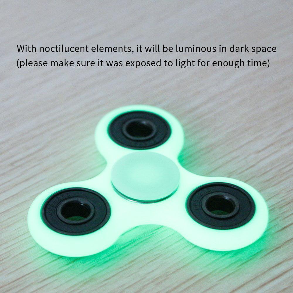 Fidget Spinner, AmyHomie Tri Fidget Hand Spinner, Ultra Fast Bearings Fidget  Toys for Adults and Kids(White) - Walmart.com