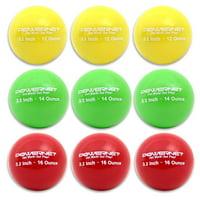"PowerNet 3.2"" Progressive Training Ball System LITE (9 Pack)"
