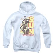 Sun Records Tri Elvis Big Boys Pullover Hoodie