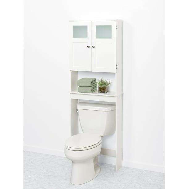 The Toilet Bathroom Storage Spacesaver, White Bathroom Space Saver