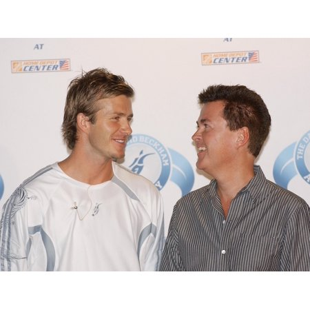David Beckham  Simon Fuller At The Press Conference For David Beckham Launches Home Depot Soccer Academy  The Home Depot David Beckham  Simon Fuller At The Press Conference For David Beckham Launches Home Depot Soccer Academy  The Home Depot Center Stadium Club  Carson  Ca  June 02  2005. Photo By: John Hayes/Everett Collection was reproduced on Premium Heavy Stock Paper which captures all of the vivid colors and details of the original. The overall paper size is 10.00 x 8.00 inches and the image size is 10.00 x 8.00 inches. This print is ready for hanging or framing.  Brand New and Rolled and ready for display or framing.  Print Title: David Beckham  Simon Fuller At The Press Conference For David Beckham Launches Home Depot Soccer Academy  The Home Depot Center Stadium Club  Carson  Ca  June 02  2005. Photo By: John Hayes/Everett Collection. Paper Size: 10.00 x 8.00 inches. Product Type: Photo Print.