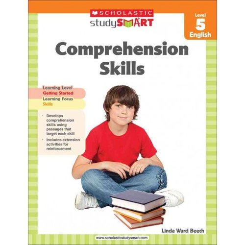 Scholastic Study Smart Comprehension Skills, Level 5 English