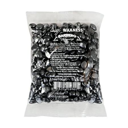 Waxness Wax Necessities Barbero Steel for Men Film Hard Wax Small Bag 100 g, 3.5 (Best Wax For Men)