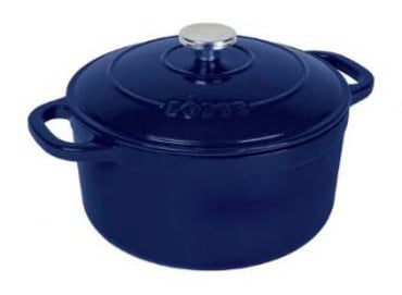 Lodge 5.5-Quart Enameled Cast Iron Dutch Oven