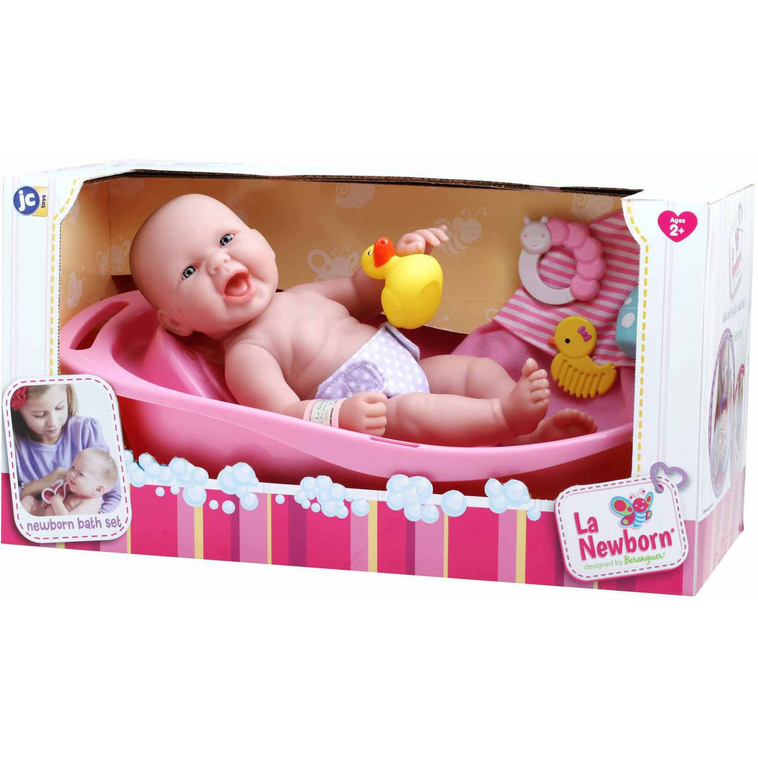 you me baby doll bathtub set tubethevote. Black Bedroom Furniture Sets. Home Design Ideas