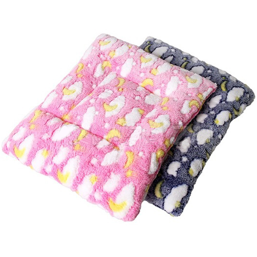 2Pcs Hamster Sleep Mats, Legendog Warm Plush Hamster Sleep Blankets Pet Sleeping Pads Small Animal Blankets by Legendog