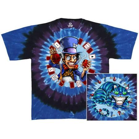 Mad Hatter Shirts (Fantasy-Mad Hatter Apparel T-Shirt - Tie)