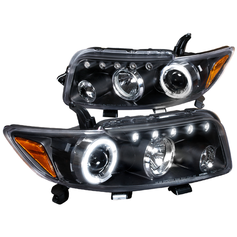 Spec-D Tuning Led 2008-2010 Scion Xb Halo Projector Headlights Black 08 09 10 (Left + Right)