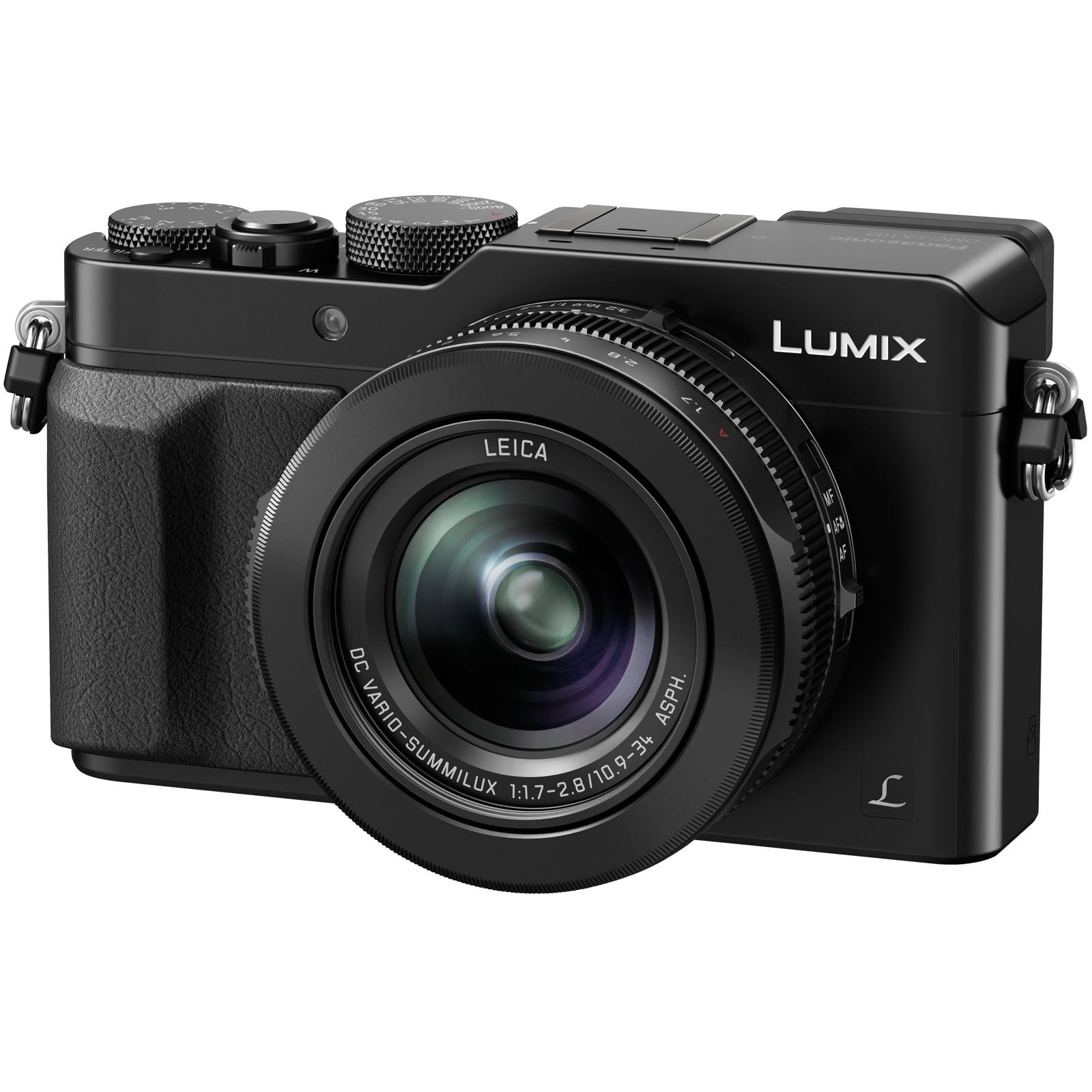 Panasonic Lumix DMC-LX100K Digital Camera, Black by Panasonic