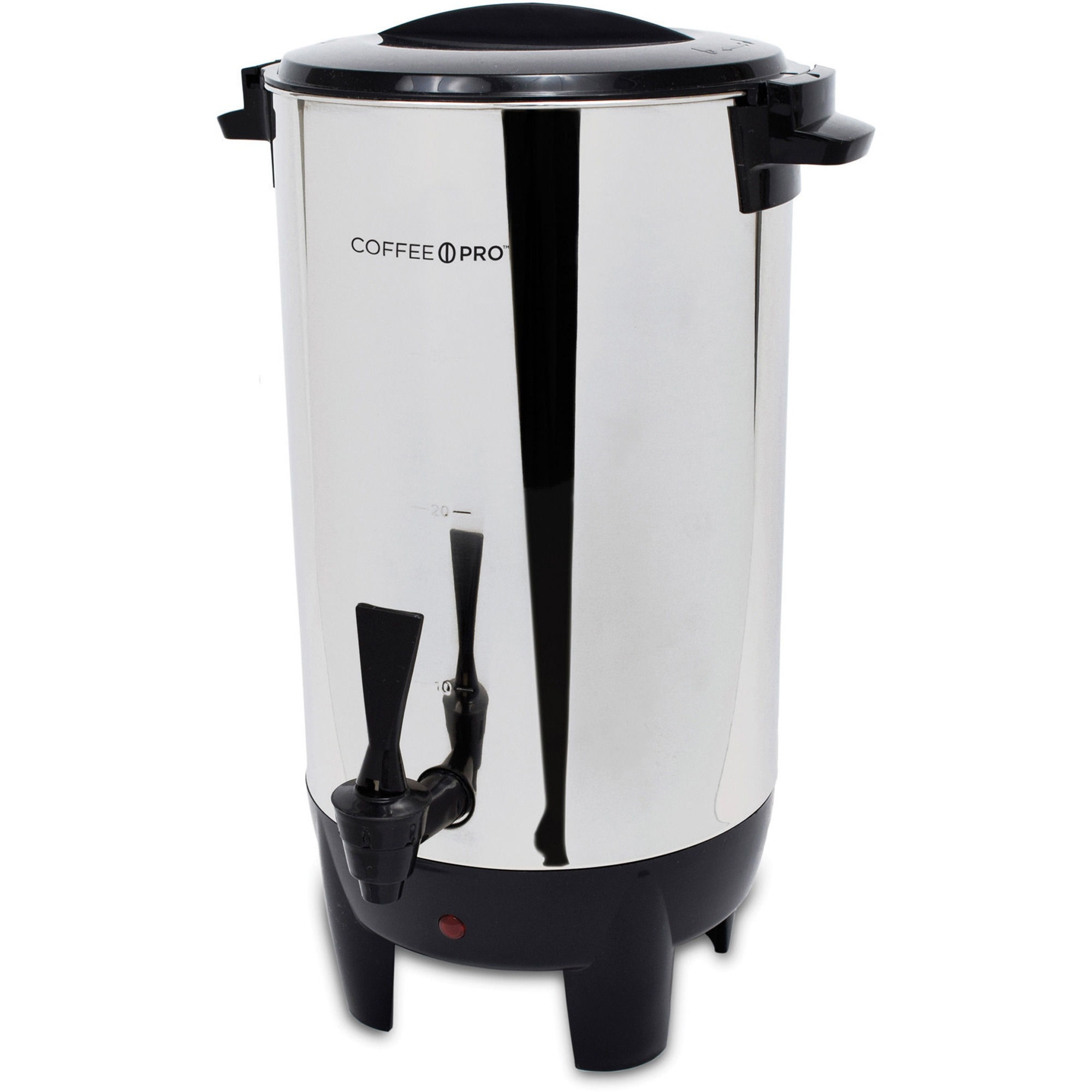 Coffee Pro, CFPCP30, 30-Cup Percolating Urn/Coffeemaker, 1, Stainless Steel