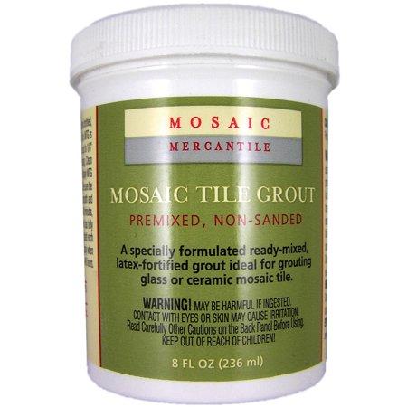 Glass Mosaic Grout - Mosaic Mercantile Grout, 8 oz