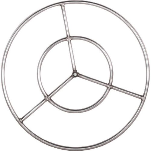 Stainless Steel Fire Ring - 12 inch