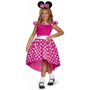 Pink Minnie Mouse Basic Plus Child Halloween Costume
