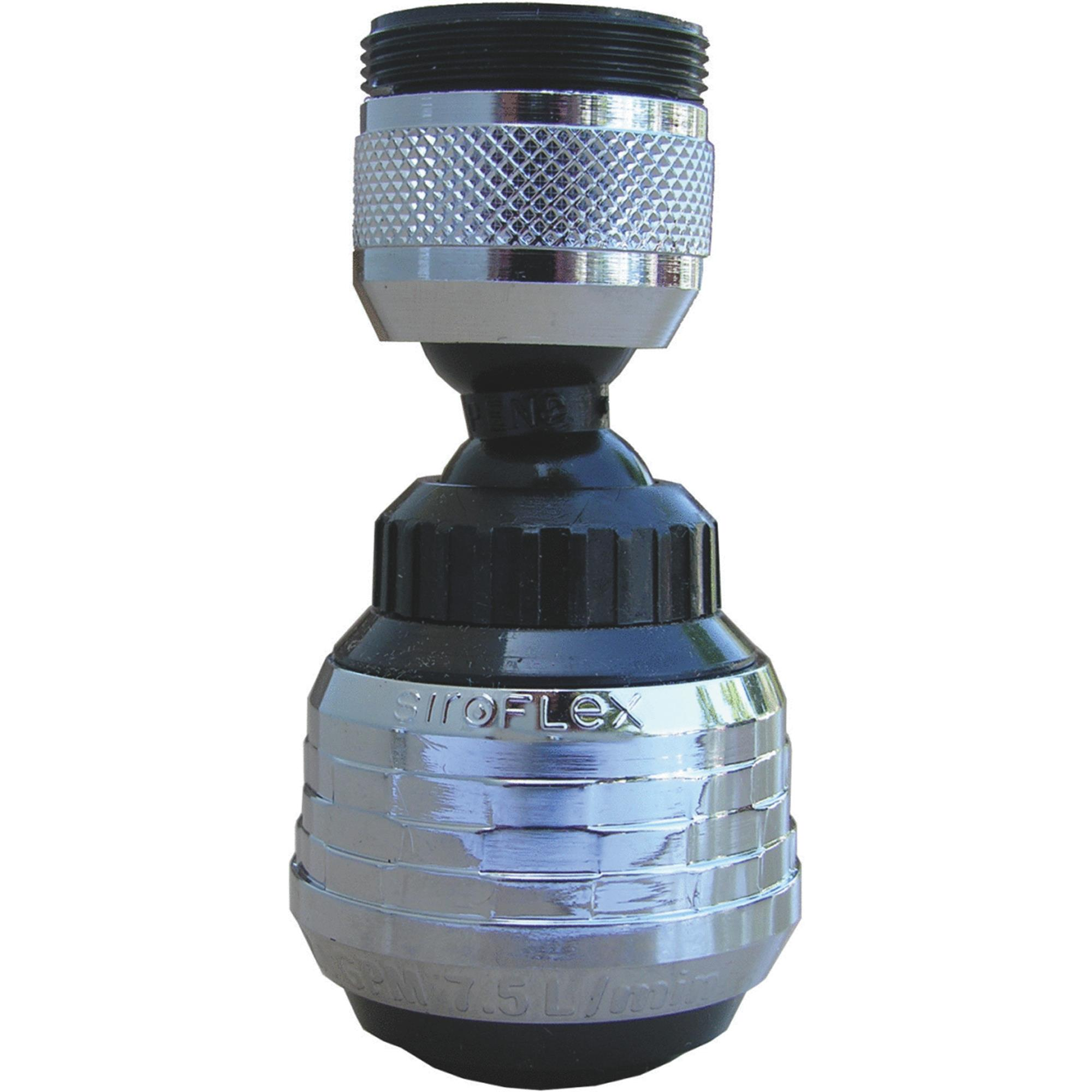 Lasco Swivel Spray Dual Thread Faucet Aerator
